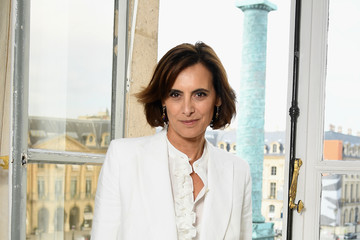 Ines de la Fressange Schiaparelli: Front Row - Paris Fashion Week - Haute Couture Fall/Winter 2017-2018
