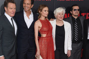 """(L-R) Bryan Cranston, Benjamin Bratt, Diane Kruger, Olympia Dukakis and John Leguizamo attend the """"The Infiltrator"""" New York premiere at AMC Loews Lincoln Square 13 theater on July 11, 2016 in New York City."""
