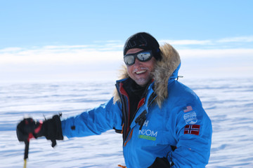 Inge Solheim The Walking with the Wounded South Pole Allied Challenge
