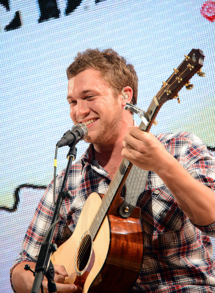 Phillip Phillips performs at FEED USA + Target launch event on June 19, 2013 in New York City.