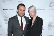 Michael Carl and Editor-in-Chief, Maxim Kate Lanphear attends the International Center of Photography 31st annual Infinity Awards at Pier Sixty at Chelsea Piers on April 30, 2015 in New York City.