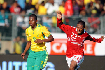 Patrick Mtiliga International Friendly - South Africa v Denmark
