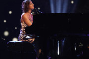 Sarah McLachlan performs during the opening ceremony of the 2017 Invictus Games at Air Canada Centre on September 23, 2017 in Toronto, Canada.The Invictus Games is the only international sporting event for wounded, injured and sick servicemen and Women (WIS). This year's games will bring together 550 competitors from 17 nations.