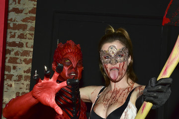 Ireland Baldwin Stars Attend Just Jared's 7th Annual Halloween Party