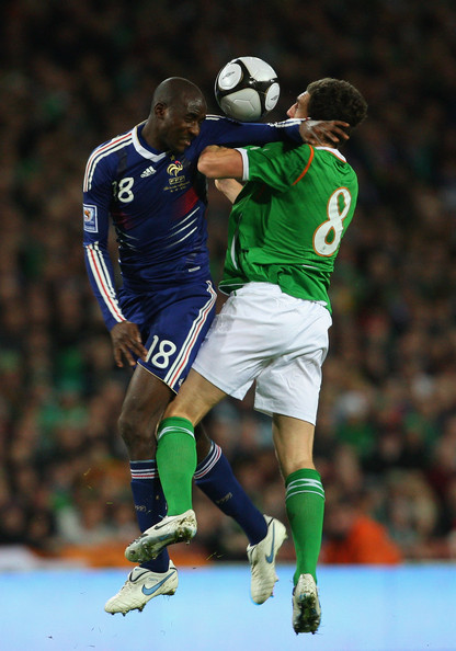 Player Alou Diarra During The FIFA 2010 World Cup Qualifier Play