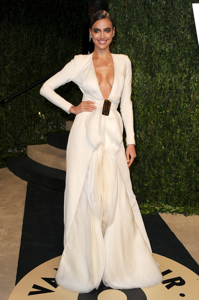 Irina Shayk - 2013 Vanity Fair Oscar Party Hosted By Graydon Carter - Arrivals