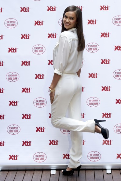 9e5107d959d Irina Shayk Pictures - Xti s Show Collection Launched in Madrid