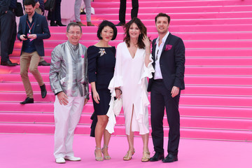Iris Berben 'Killing Eve' and 'When Heroes Fly' Pink Carpet Arrivals - The 1st Cannes International Series Festival