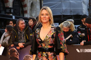 "Edith Bowman attends ""The Irishman"" International Premiere and Closing Gala during the 63rd BFI London Film Festival at the Odeon Luxe Leicester Square on October 13, 2019 in London, England."
