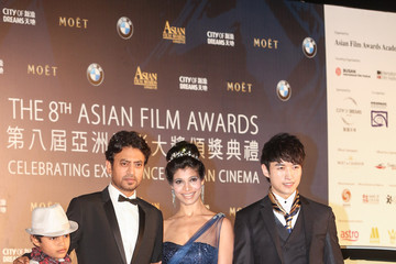 Irrfan Khan Arrivals at the Asian Film Awards