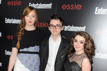 Isaac Hempstead Wright Maisie Williams The Entertainment Weekly Celebration Honoring This Year's SAG Awards Nominees Sponsored By TNT & TBS And essie - Arrivals