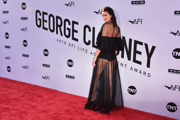 Isabeli Fontana American Film Institute's 46th Life Achievement Award Gala Tribute To George Clooney - Arrivals