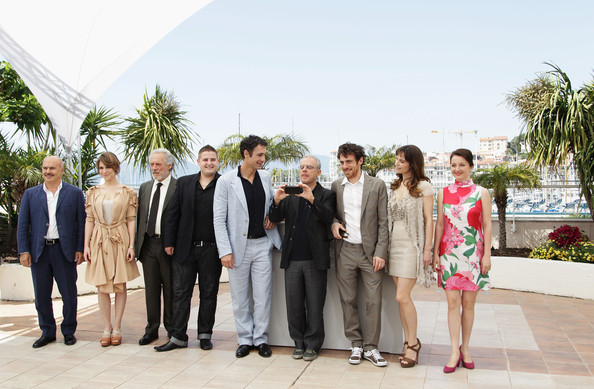 Our Life - Photocall:63rd Cannes Film Festival [luca zingaretti,daniele luchetti,guest,isabella ragonese,elio germano,stefania montorsi,marius ignat,raoul bova,life - photocall,photograph,people,social group,event,ceremony,wedding,suit,marriage,photography,businessperson,cannes film festival]