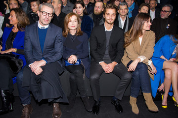 Isabelle Huppert Dior Homme : Front Row - Paris Fashion Week - Menswear F/W 2015-2016
