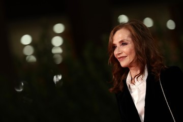 """Isabelle Huppert """"Le Discours"""" (The Speech) Red Carpet - 15th Rome Film Festival 2020"""