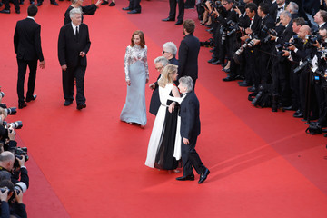 Isabelle Huppert 70th Anniversary Red Carpet Arrivals - The 70th Annual Cannes Film Festival