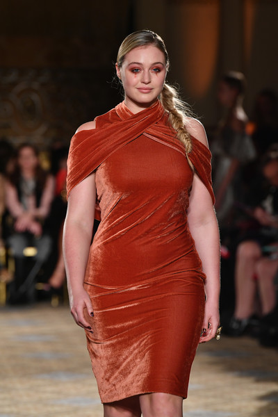 Image result for Iskra Lawrence at Christian Siriano