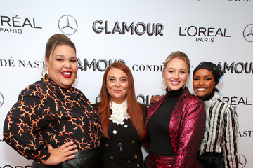 Iskra Lawrence Samantha Barry 2019 Glamour Women Of The Year Summit