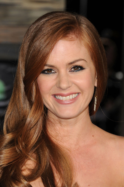 "Isla Fisher Actress Isla Fisher arrives at the premiere of Paramount Pictures' ""Rango"" at Regency Village Theater on February 14, 2011 in Los Angeles, California."