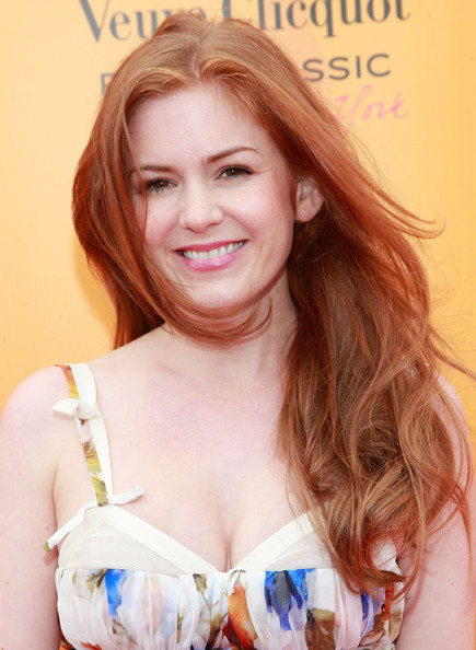 Isla Fisher Actress Isla Fisher attends the Veuve Clicquot Polo Classic at Governor's Island on June 5, 2011 in New York City.