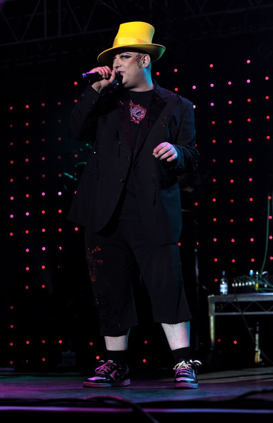 Boy George Boy George performs at the Isle Of Man Bay Festival on June 20,