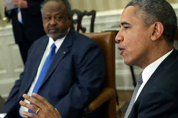 Ismail Omar Guelleh Barack Obama Holds Bilateral Meeting