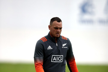 Israel Dagg New Zealand All Blacks Training Session