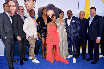 Issa Rae Marsai Martin The Premiere Of Universal Pictures 'Little' - Red Carpet