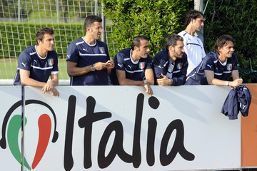 Fabio Grosso Italy Training Session & Press Conference