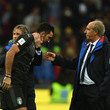 Gianluigi Buffon Gian Piero Ventura Photos