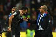 Gianluigi Buffon Gian Piero Ventura Photos Photo