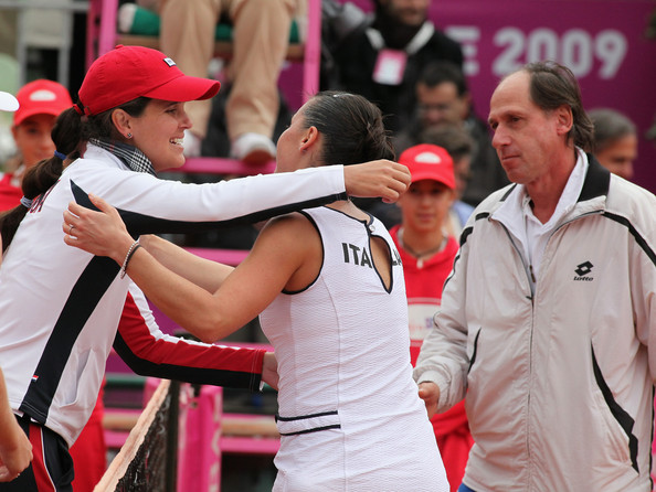 Italy v USA - Fed Cup World Group Final Day Two