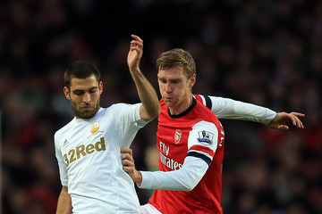 Itay Shechter Arsenal v Swansea City - Premier League