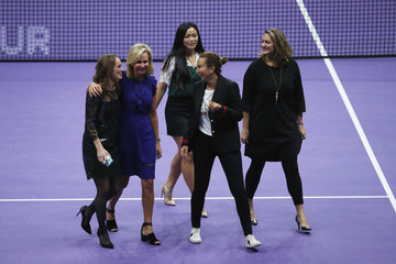 Iva Majoli BNP Paribas WTA Finals Singapore Presented by SC Global - Day 8