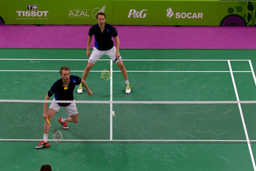 Ivan Sozonov Badminton Day 15: Baku 2015 - 1st European Games