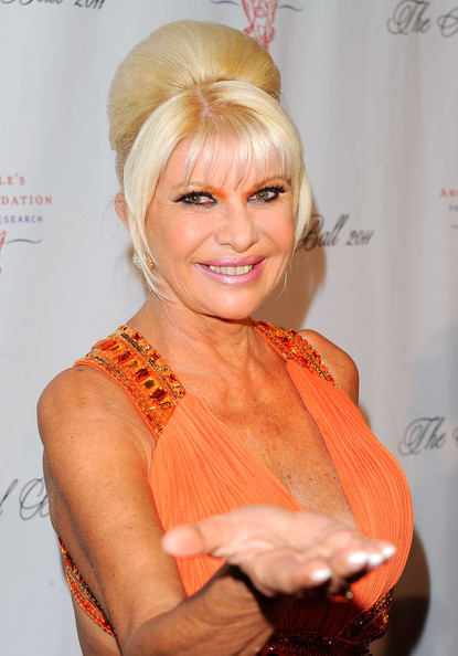 ... in this photo ivana trump ivana trump attends the 2011 angel