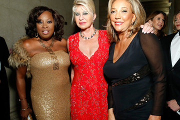 Ivana Trump Denise Rich Inside the Angel Ball in NYC