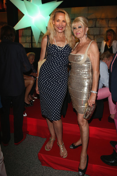Ivana Trump And Jerry Hall Photos Photos Zimbio