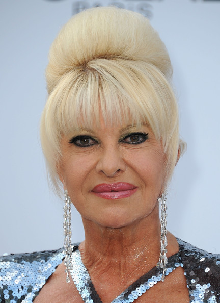ivana trump photos photos   amfar gala   red carpet