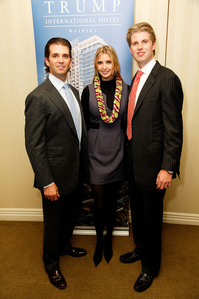 donald trump jr wife. (L-R) Donald Trump jr,