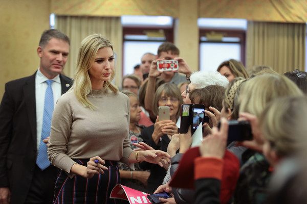 Donald Trumps Daughter Ivanka Trump Campaigns For Him In Wisconsin
