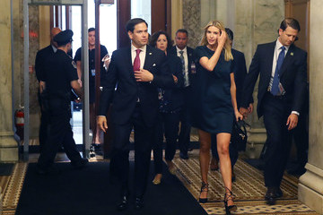 Ivanka Trump Ivanka Trump Discusses Paid Family Leave With Senators on Capitol Hill
