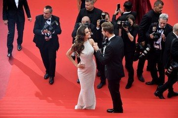 Izabel Goulart Kevin Trapp 'The Killing of a Sacred Deer' Red Carpet Arrivals - The 70th Annual Cannes Film Festival