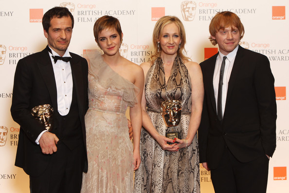 neil murray jk rowling. Rupert Grint and J.K. Rowling