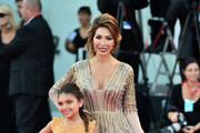 """Farrah Abraham and Sophia Laurent Abraham walk the red carpet ahead of the """"J'Accuse"""" (An Officer And A Spy) screening during the 76th Venice Film Festival at Sala Grande on August 30, 2019 in Venice, Italy."""