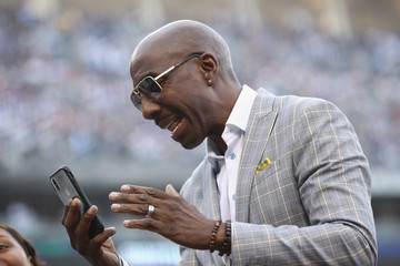 J.B. Smoove World Series - Boston Red Sox v Los Angeles Dodgers - Game Five