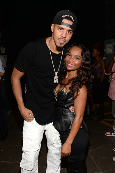 3853aba51633f J. Cole Photos Photos - Backstage at the iHeartRadio Music Festival ...