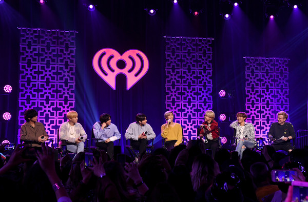 iHeartRadio LIVE With BTS Presented By HOT TOPIC