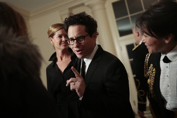 J.J. Abrams Guests Arrive For White House State Dinner In Honor Of French President