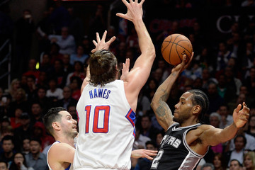 J.J. Redick San Antonio Spurs v Los Angeles Clippers